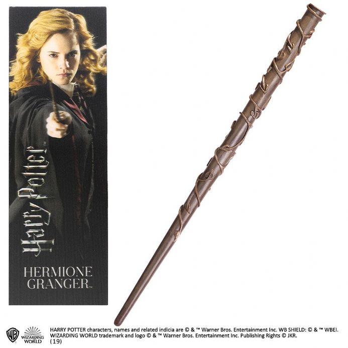 Hermione Grainger Wand Toy and Bookmark Gift Set | Buy now at The G33Kery - UK Stock - Fast Delivery